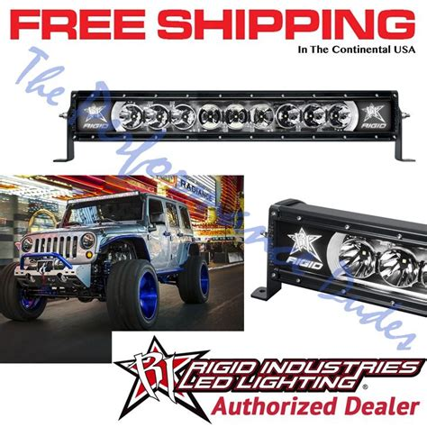 rigid 20 inch light bar the 25 best 20 inch light bar ideas on jeep