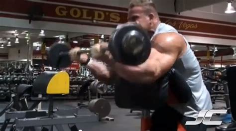 preacher bench concentration curls jay cutler workout overview sports science co
