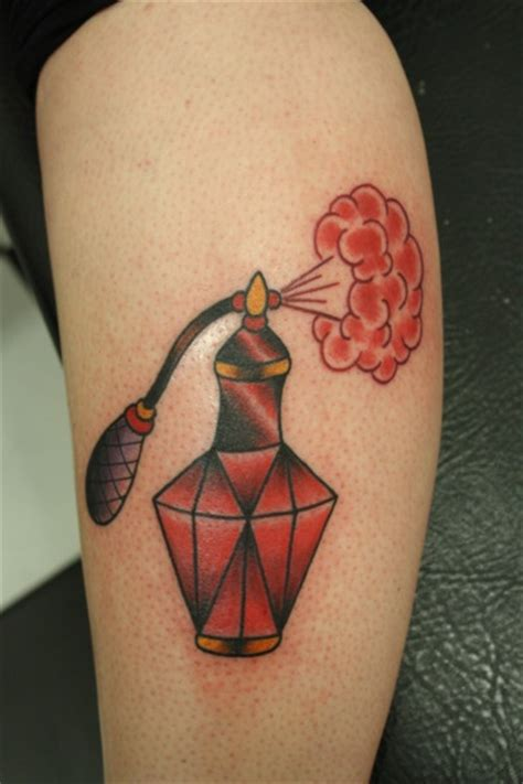 love tattoo perfume ruby red perfume bottle tattoo tattoomagz