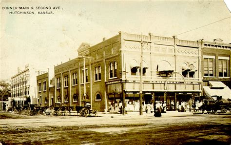 What County Is Hutchinson Kansas In Images Of Kansas Towns And Cities