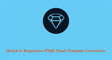 Sketch Email Template Sketch To Responsive Html Email Template Conversion Service