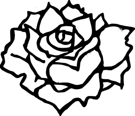 black and white coloring pages of roses rose black and white dozen roses clip art black and white