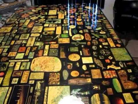 decoupage dining table how to decoupage furniture a table