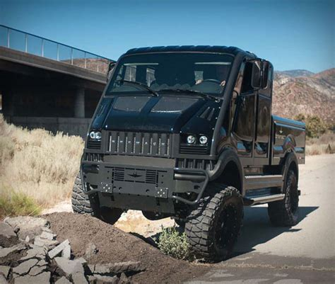 rugged truck bremach t rex truck compact rugged and available with an electric drivetrain