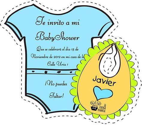 invitaciones de baby shower gratuitas editables y