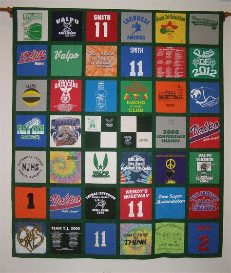 how to make a tee shirt quilt materials cutting the t shirt quilts photos custom quilting and sewing by