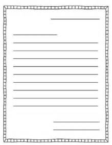 letter writing template letter writing and templates on