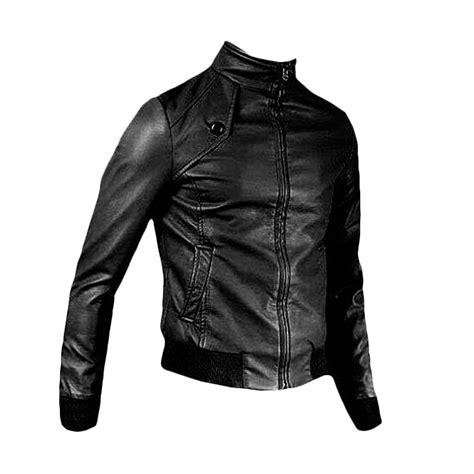 Harga Jaket Kulit Hitam Pria jual jaket kulit pria b racer bikers l hitam