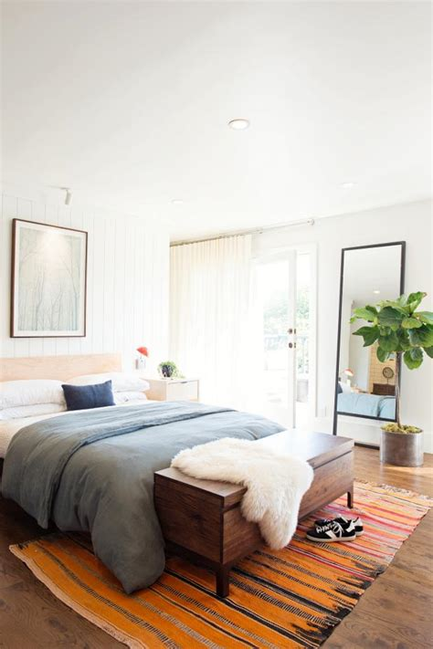 transitional bedroom with bike storage 2015 fresh faces