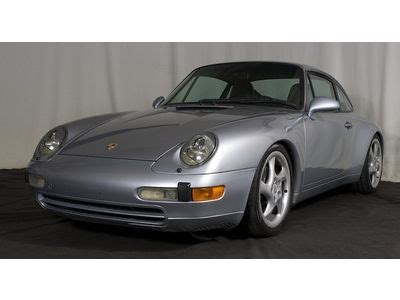 buy used 1995 porsche 911 993 coupe 6 speed in monterey