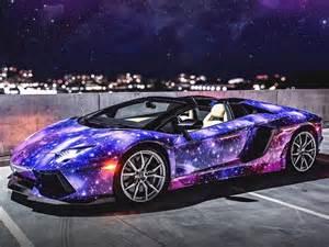 Owning A Lamborghini Aventador Galaxy Wrapped Lamborghini Aventador Roadster Amazing