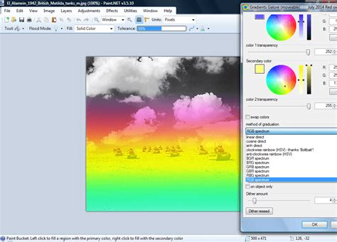how to add gradients to images in paint net tip reviews news tips and tricks dottechdottech