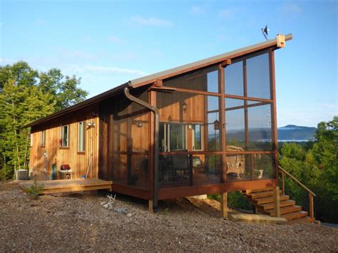 small houses to build couple build 704 sq ft cabin that fits like a glove