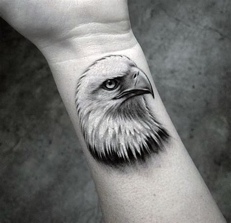 eagle wrist tattoo 50 coolest small tattoos for manly mini design ideas