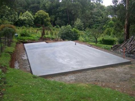 Cement Pad For Shed by Residential Ground Slab 2 Don Buchanan Sheds Concreting