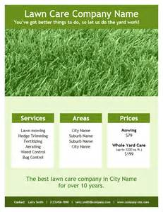 Free Lawn Mowing Flyer Template by Lawn Care Flyer Template For Word