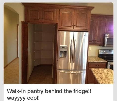 walk in pantry refrigerator for the home