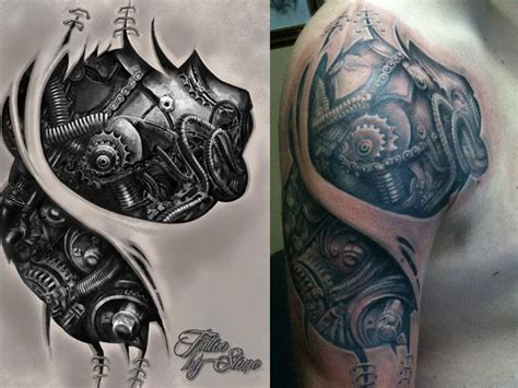 mechanic tattoo design mechanical by stonetat2 on deviantart