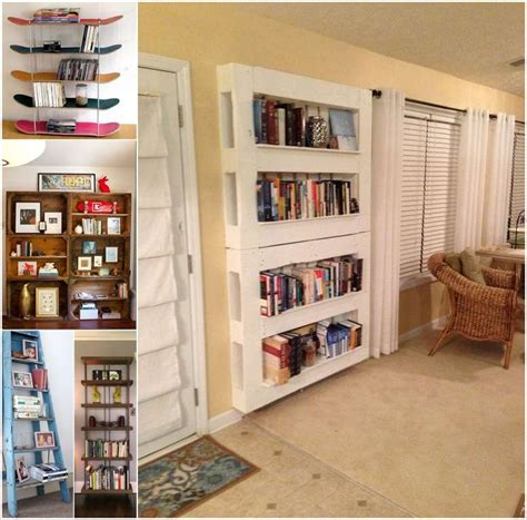 bookshelf ideas diy 15 diy bookshelf ideas that are more than awesome