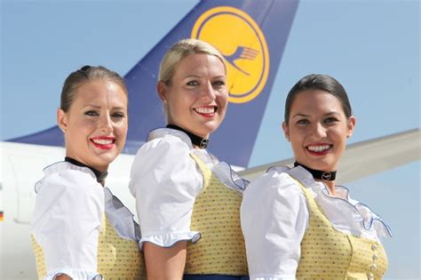 Cabin Crew Lufthansa by Lufthansa Brings Oktoberfest To Lounges And Haul