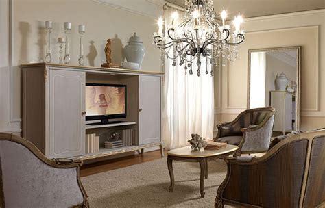 mobili in stile classico mobile porta tv in stile classico realizzato in legno