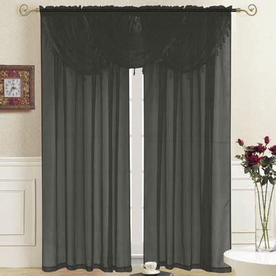 kashi home 36 quot curtain valance reviews wayfair
