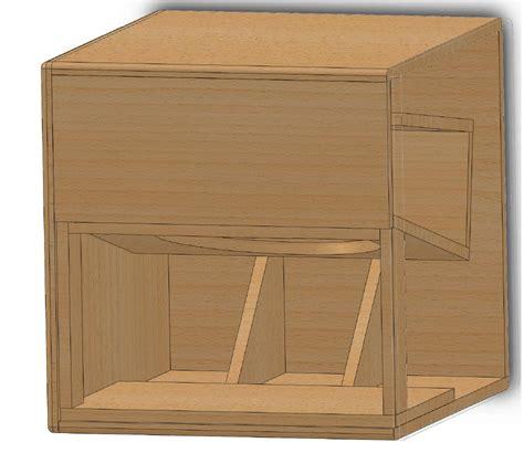 bass cabinet design try guitar speaker cabinet plans tom wood