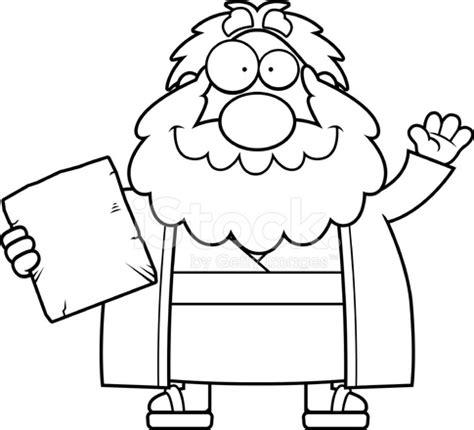 cartoon moses waving stock vector freeimages.com