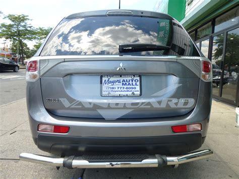 bumper removal 2014 outlander evolutionm mitsubishi vanguard 14 17 mitsubishi outlander rear bumper protecor guard single tube s s ebay