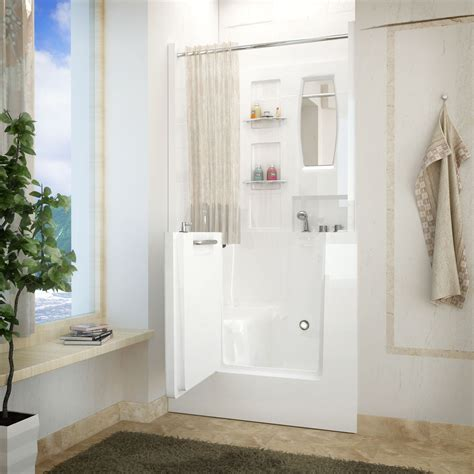 walk in bathtub with shower venzi 40 x 31 right drain white walk in bathtub shower