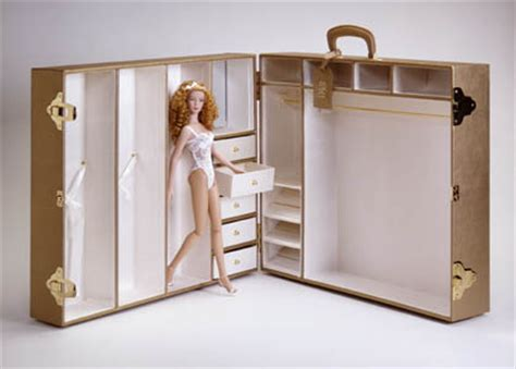 Doll Trunk Wardrobe by Dreamcastle Dolls