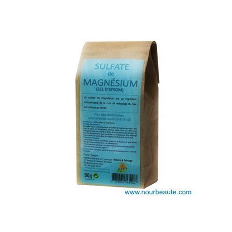 Sulfate Magnesium Detox by Le Sel D Epsom Est Pr 233 Conis 233 Par Andr 233 As Moritz Dans