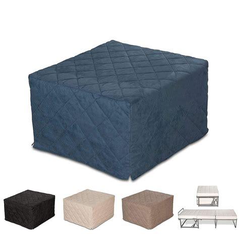 pouf materasso pouf letto da seduta apribile con materasso singolo
