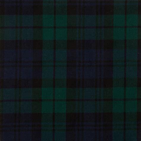 Kemeja Tartan Black Blue black modern medium tartan fabric lochcarron of scotland