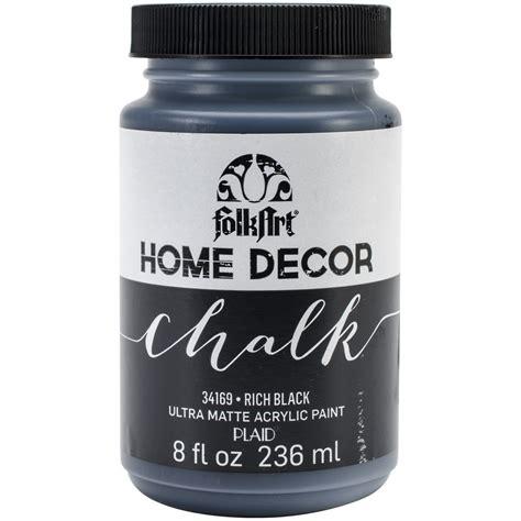 chalkboard paint kmart folkart home decor chalk paint 8oz rich black