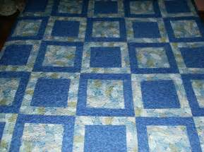 Quilts For Twin Beds Potato Chip Block Pattern Queen Quilt
