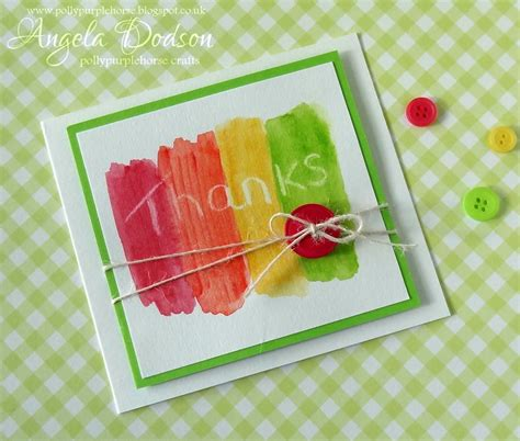 simple cards for children to make project simple thank you card for to make