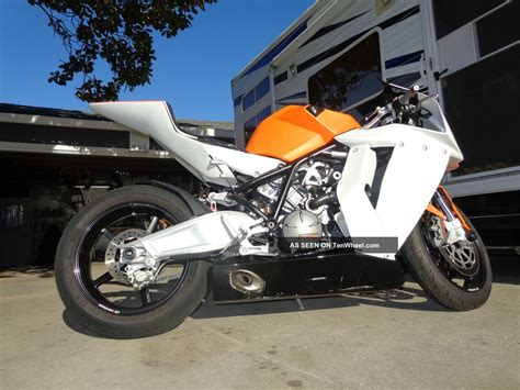 Ktm Sports Bikes 2010 Ktm Rc8 Sports Bike 1148cc Rc 8 Fast