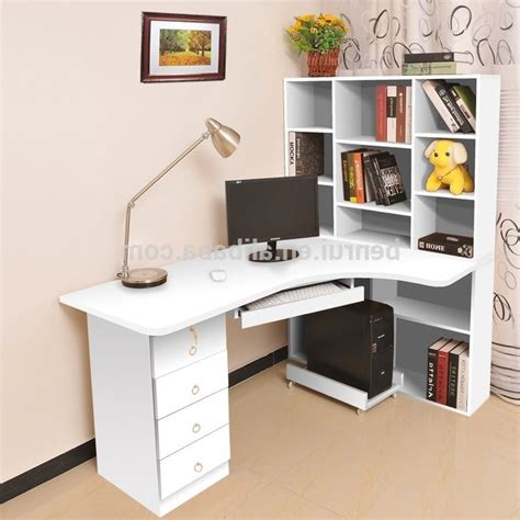 open shelf bookcase with computer corner table buy open