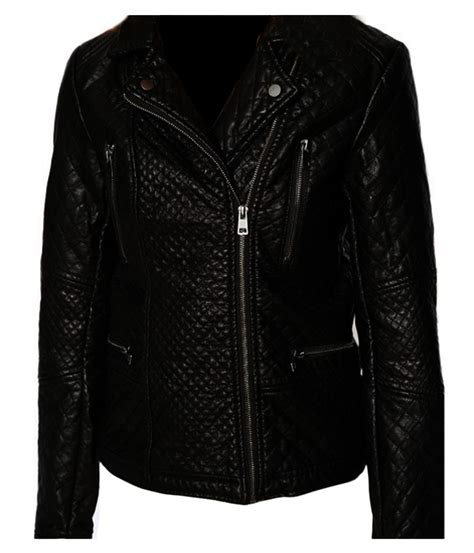 Black Womens Quilted Jacket by Quilted Black Jacket Versatile Leather