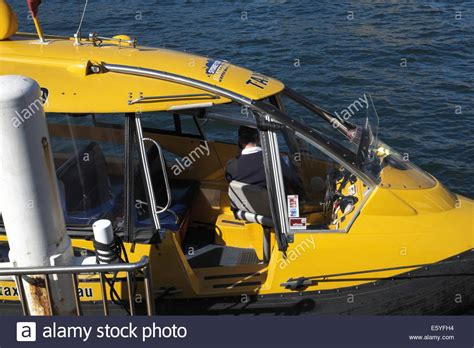 taxi boat sydney yellow sydney water taxi and pilot in circular quay sydney