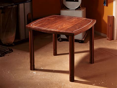 project walnut game table woodworking blog