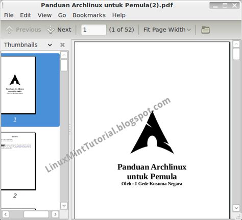 tutorial linux pdf indonesia tilan document viewer