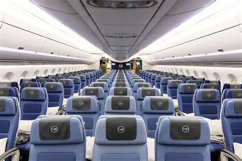 a350 cabin pearsonlloyd fits out lufthansa s a350 economy class cabin