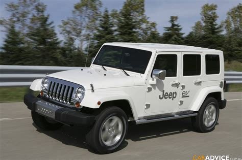 electric jeep dodge jeep and chrysler cars electrifying photos 1 of 8