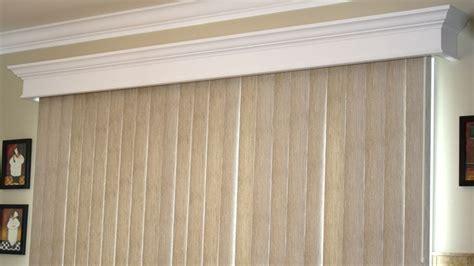 image result  vertical blind valance sliding door