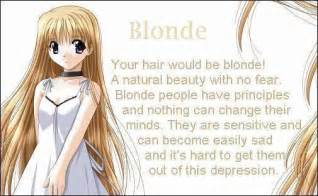 anime hair color meaning hair anime photo 17429074 fanpop
