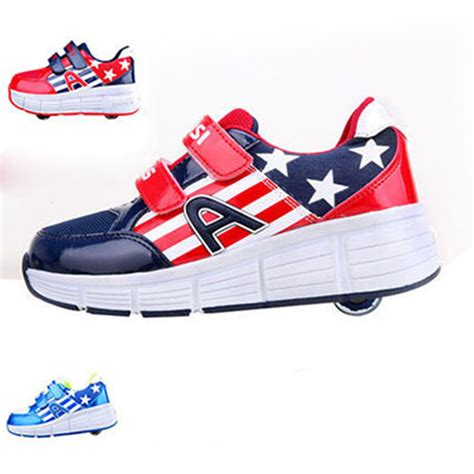 rolling shoes for children heelys shoes with two wheels roller