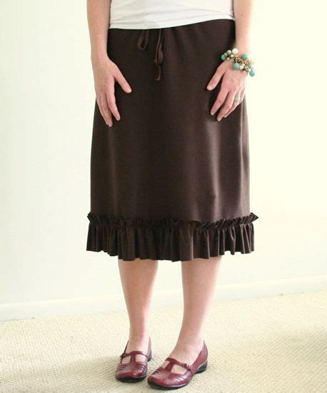 jersey skirt pattern free the drawstring jersey skirt tutorial i think it possible