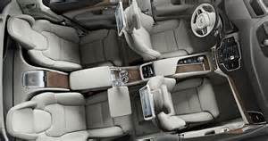 Volvo Xc90 Seats Volvo Unveils Xc90 Excellence 4 Seat Luxury Suv For